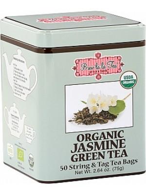 BREW LA LA TEA BIO Green Organic Jasmine 50x1,5g (2505)