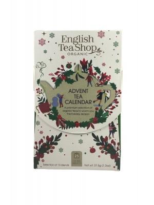 ETS Advent tea calendar biely 25 sáčkov