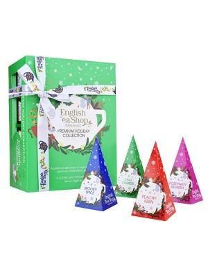 ETS Premium holiday collection zelená pyramídy 12ks
