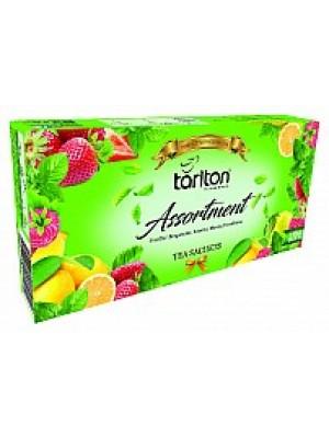 TARLTON Assortment 5 Flavour Green Tea 100x2g (7091)