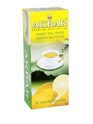 AKBAR Green Lemon Fannings neprebal 25x1,5g (1643)
