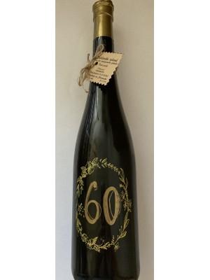 Myslík Darčekové víno 60 - zlatý popis