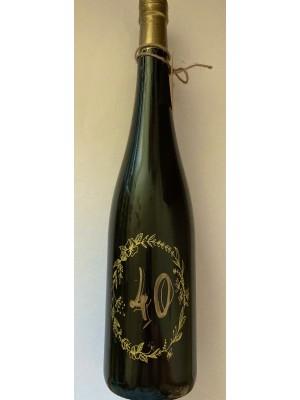 Myslík Darčekové víno 40 - zlatý popis
