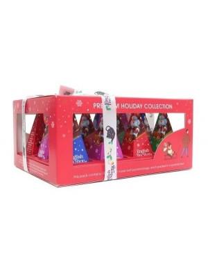 ETS Premium holiday collection červená pyramída 12ks