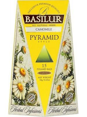 BASILUR Herbal Camomile Pyramid 15x1,2g (4099)