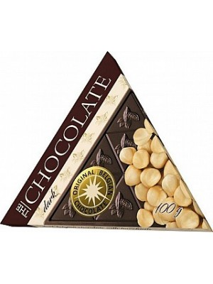 SEVERKA Horká čokoláda s lieskovými orechmi 100g (9064)