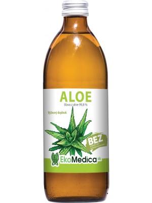Šťava Aloe 99,8% 500 ml - EkoMedica