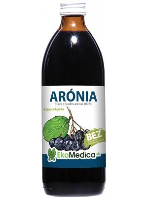 Šťava Arónia 100% 500 ml - EkoMedica