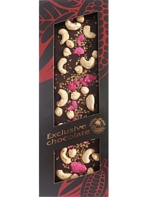 SEVERKA Horká čokoláda s kešu a lískovými orieškami 135g (9012)
