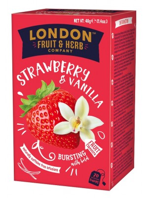 London Strawberry Vanilla Fool 20x2g (1206)