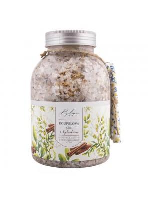 Kupeľová soľ s bylinkami 1200 g škorica a agát (BC 006135)