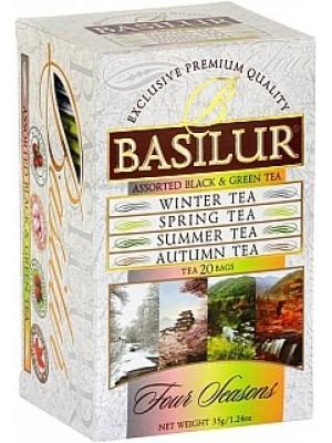 BASILUR Assorted Four Seasons 10x1,5g a 10x2g (7411)
