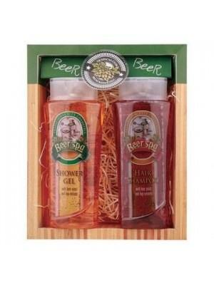 Beer Spa pivná kozmetická sada - gél 250 ml, šampón 250ml (BC 802210)