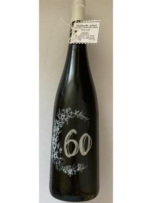 Myslík Darčekové víno 60 - biely popis