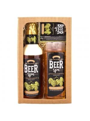 Beer Spa sada - gél 250 ml, pena 500 ml a mydlo 70 g (BC 802602)