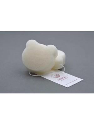 Špongia Konjac Biela medvedík