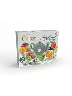 Tarlton Assortment Black & Green Tea 60x2g (6974)