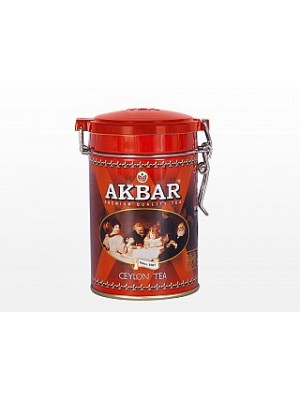 AKBAR Classic Ceylon Tea plech 100g (1562)