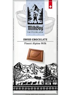 MILKBOY Mléčná čokoláda Finest Alpine Milk 100g (8770)