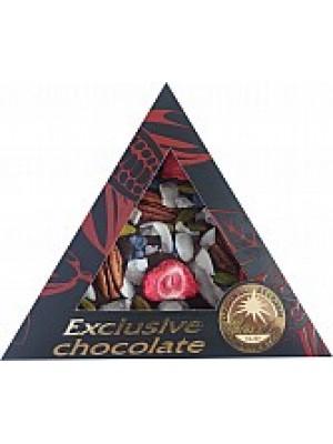 SEVERKA Horká čokoláda s jahodami a pekanovými orechami 50g (9054)