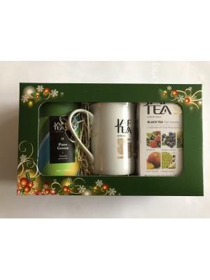 Darčekové balenie Jaftea čaj 2627 a 2855 + hrnček