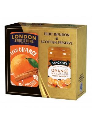 London Darčeková sada zaváranina a čaj pomaranč (1118)