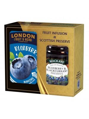 London Darčeková sada džem a čaj čučoriedka (1115)