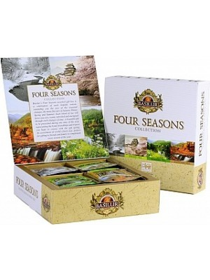 BASILUR Four Seasons Assorted prebal 40 sáčkov (7405)