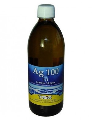 Koloidné striebro Ag100 500 ml 10 ppm
