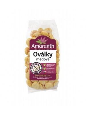 Amaranth ovalky medové 100g