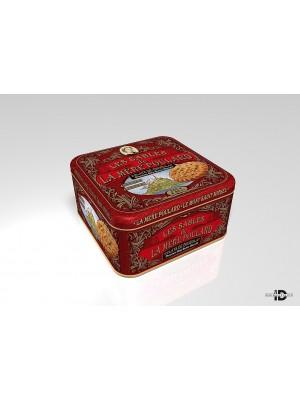 La Mére Coffret Chocolate chip butter biscuits plech 250g (9126)