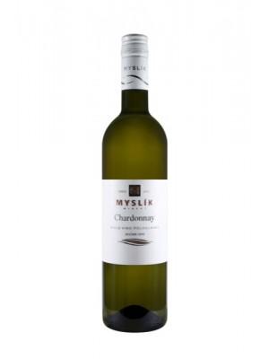 Myslík Chardonnay biele polosladké 0,75l