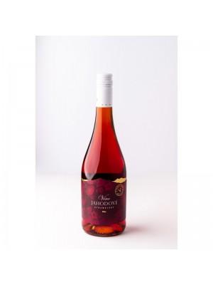 Miluron Jahodové víno 0,75l