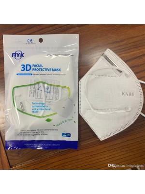Ochranné pomôcky KN95 - respirátor 2ks