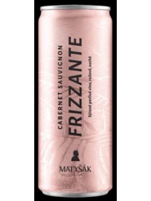 MATYŠAK frizzante plech ružové 0,25l