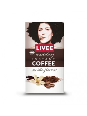 Káva instantná s príchuťou vanilky - obedná 60g Livee