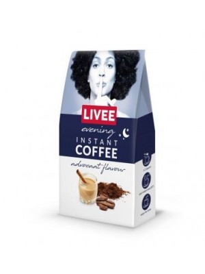 Káva instantná s príchuťou likéru Advocaat 60g Livee