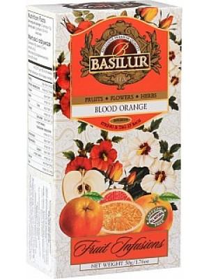 BASILUR Fruit Blood Orange neprebal 25x2g (7327)