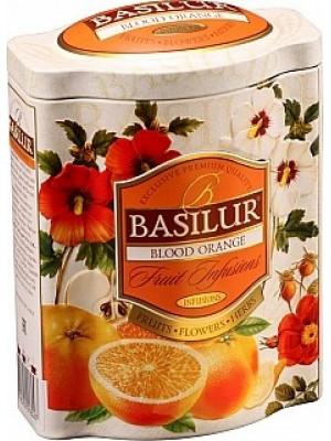 BASILUR Fruit Blood Orange plech 100g (4603)