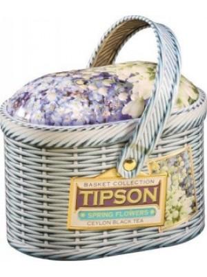 TIPSON Basket Spring Flowers plech 100g (5005)