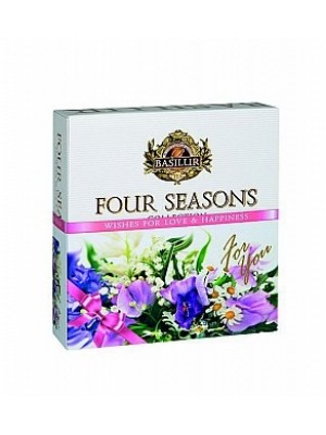 BASILUR Four Seasons For You Purple Assorted 40E (4991)