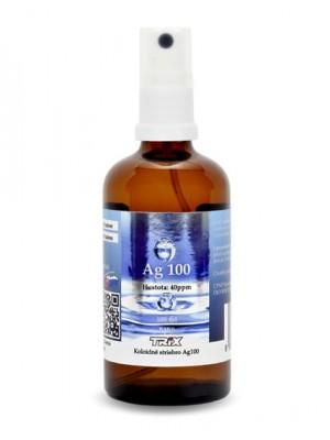 Koloidné striebro Ag100 100 ml 40 ppm sprej