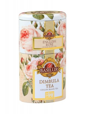 BASILUR 2v1 Rose & Dimbula plech 30g & 70g (7536)