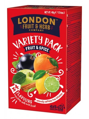 London Fruits Spices Variety 20x2g (1211)