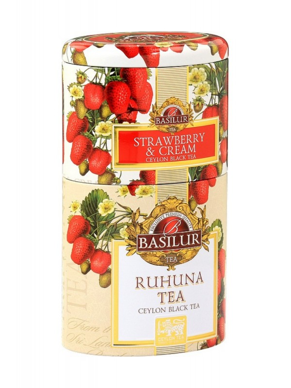 BASILUR 2v1 Strawberry & Ruhunu plech 30g & 70g (7538)