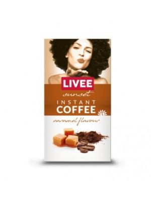 Káva instantná s príchuťou karamelu - večerná 60g Livee