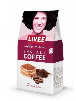 Káva instantná s príchuťou tiramisu - poobedná 60g Livee
