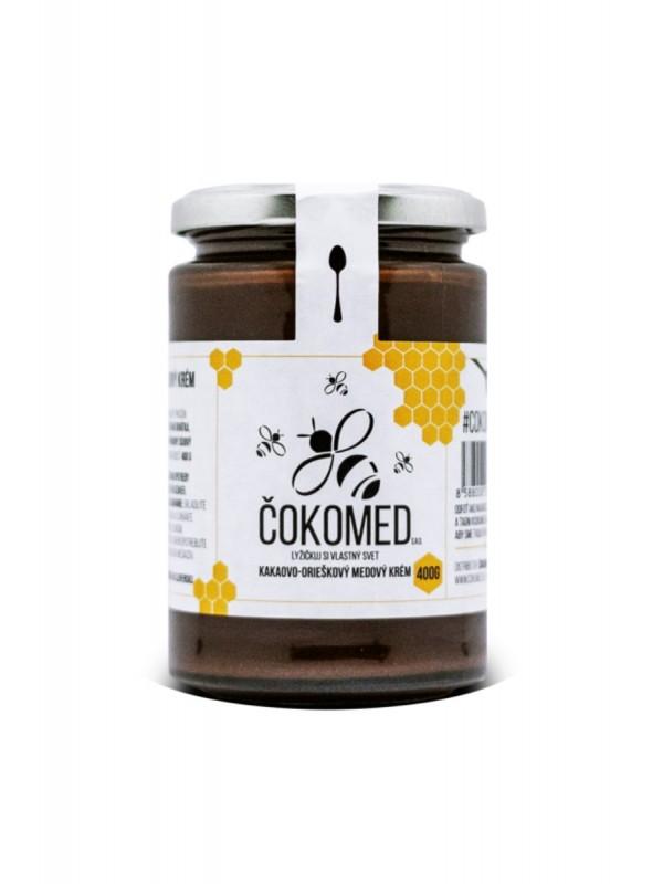 Čokomed kakaovo orieškovo medový krém 400g