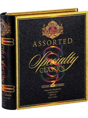 BASILUR Book Assorted Specialty plech 32 gastro sáčkov (7768)