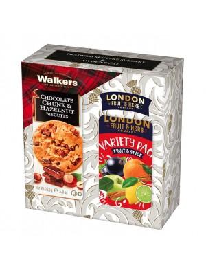 London Darčeková sada sušienky a čaj fruit spice (1108)